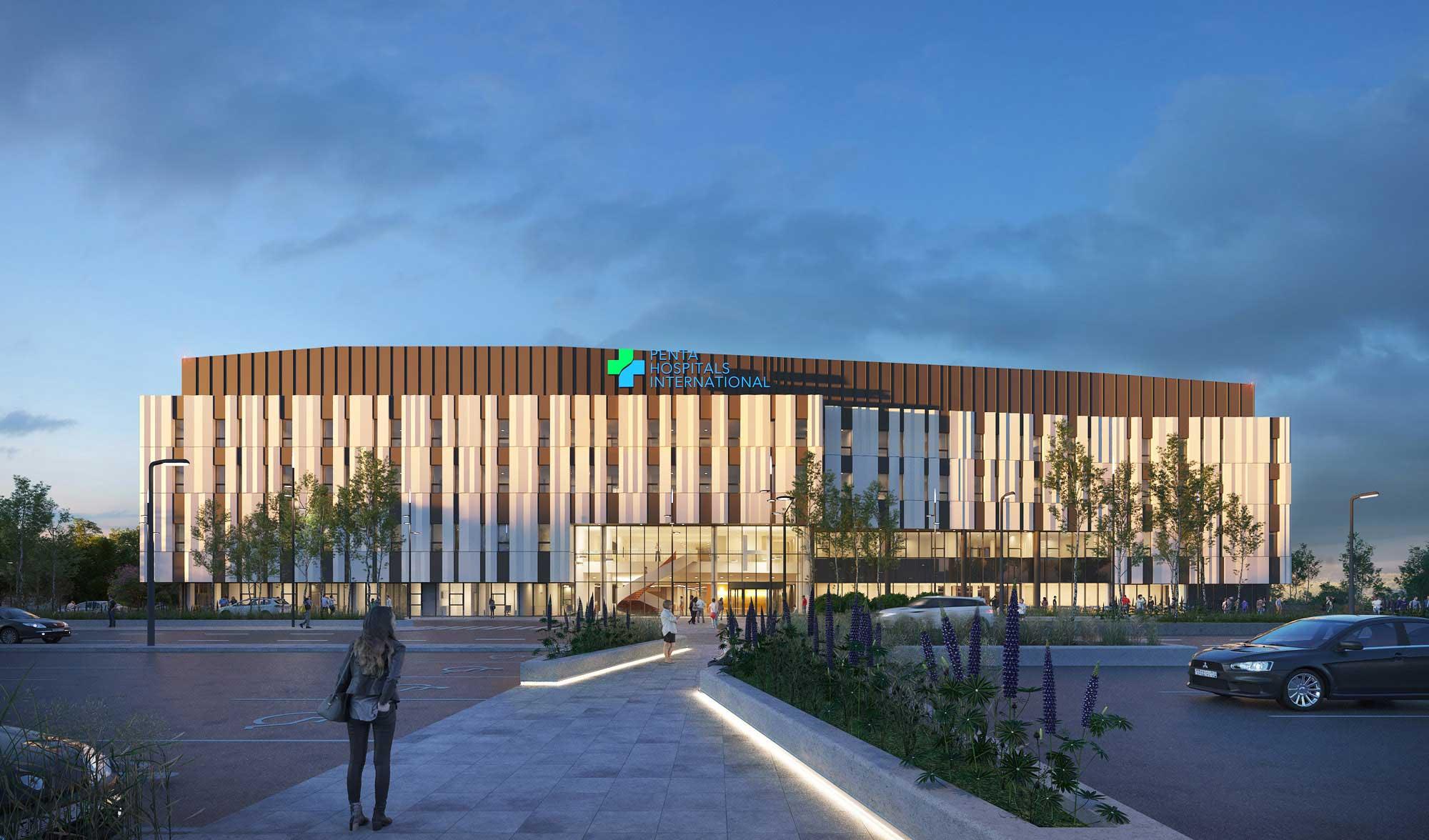 Next Generation Hospital, Bratislava, Slovakia
